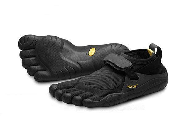 Men and Women can now return to barefoot freedom thanks to Vibram's Five Fingers.