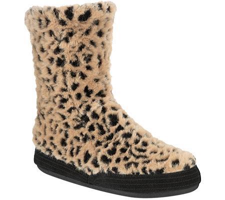 Acorn Tex Bootie Ocelot Shoes