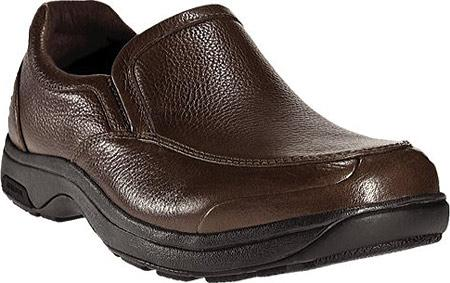 Battery Park Slip-On Brown Polishable Leather