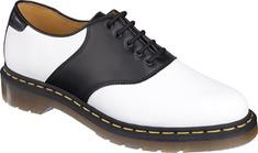 Dr. Martens Rafi Saddle Shoe - White/Black Saddle Shoes for Women