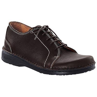 Sheffield Brown Waxy Leather