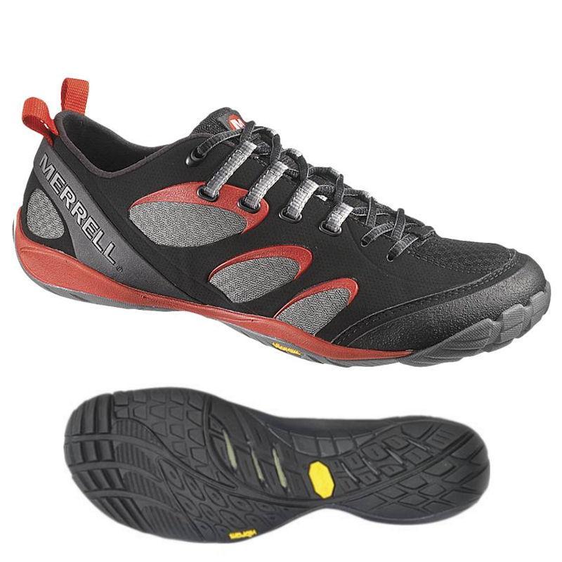 Mens Barefoot True Glove Black/ Molten Lava