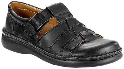 Madeira Jet Black Leather