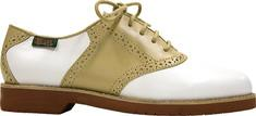 Bass Enfield White/Wheat Atanado/Aztec Saddle Shoes for Women