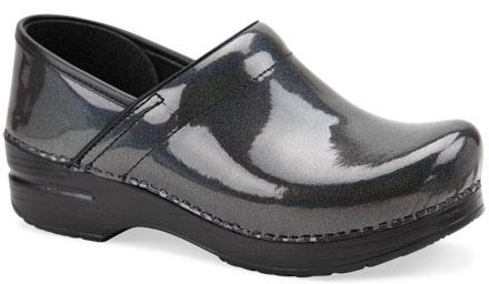 The Professional Grey Prism Patent Leather