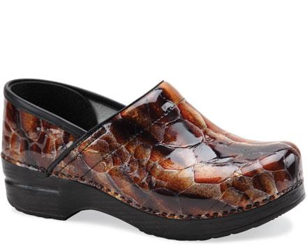Professional Tiger Patent Leather