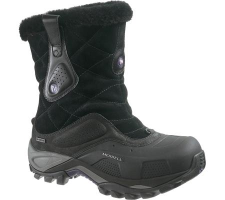 Merrell Whiteout Mid Waterproof Black