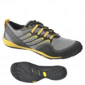 Mens Barefoot Trail Glove Smoke/Adventure Yellow