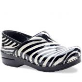 Professional Zebra Patent Leather